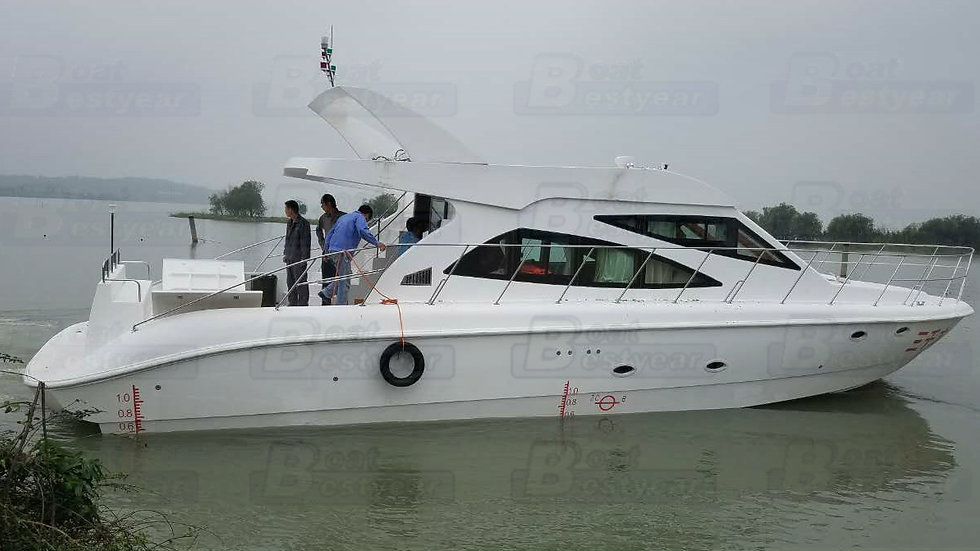 52ft Fiberglass Yacht Hull for Sale
