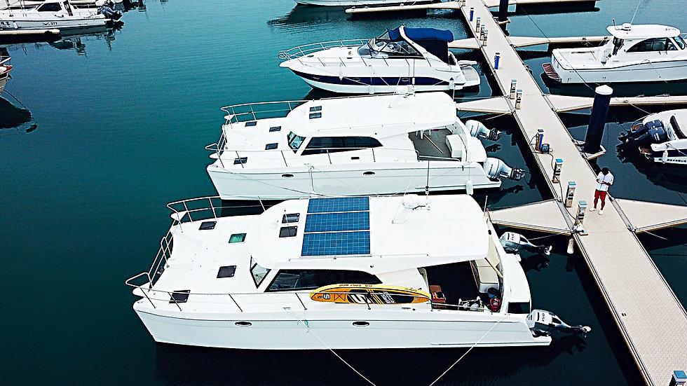 38ft Luxury Power Catamaran Yacht