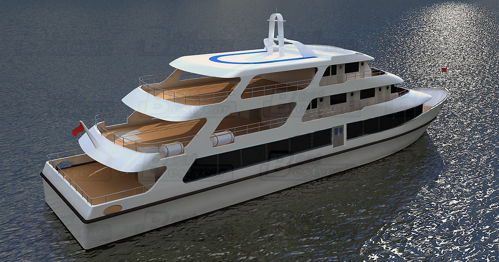 Luxury Ferry Yacht 5000 for 320 Passengers