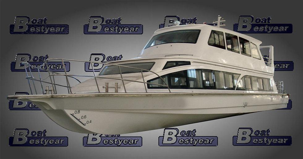 Passenger Boat 2000-2500 for 60-200 Passengers