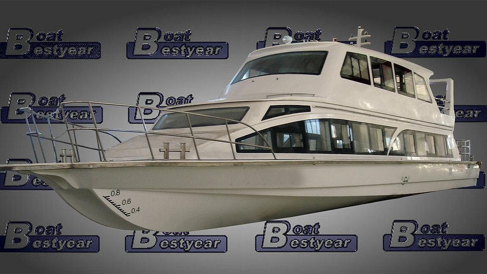 Passenger Boat 2000-2500 for 100-200 Passengers