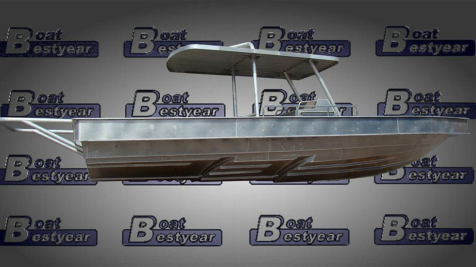 Aluminum Boat 960 for Sports & Fishing