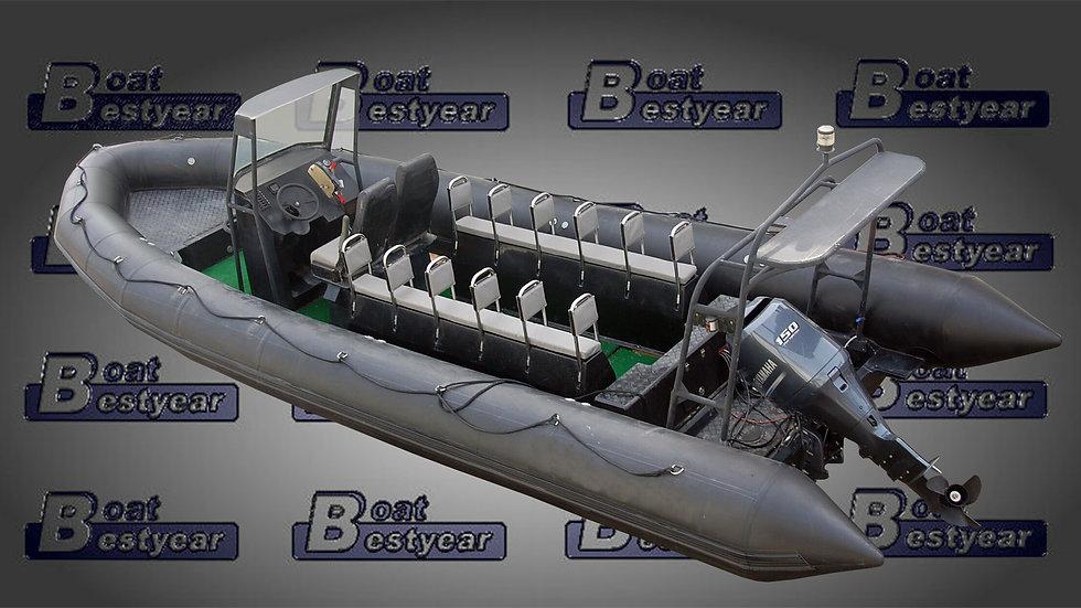 Rigid Inflatable Boat 880