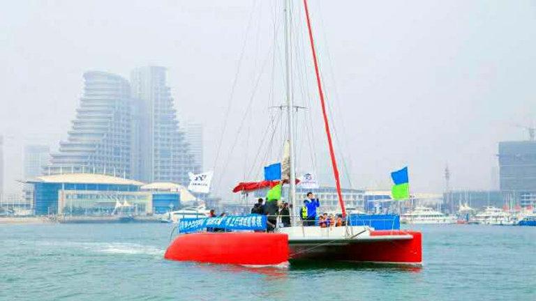 S40 Commercial Catamaran Sailboat