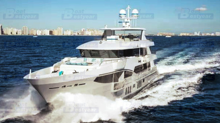 Bestyear 133ft Open Design Yacht