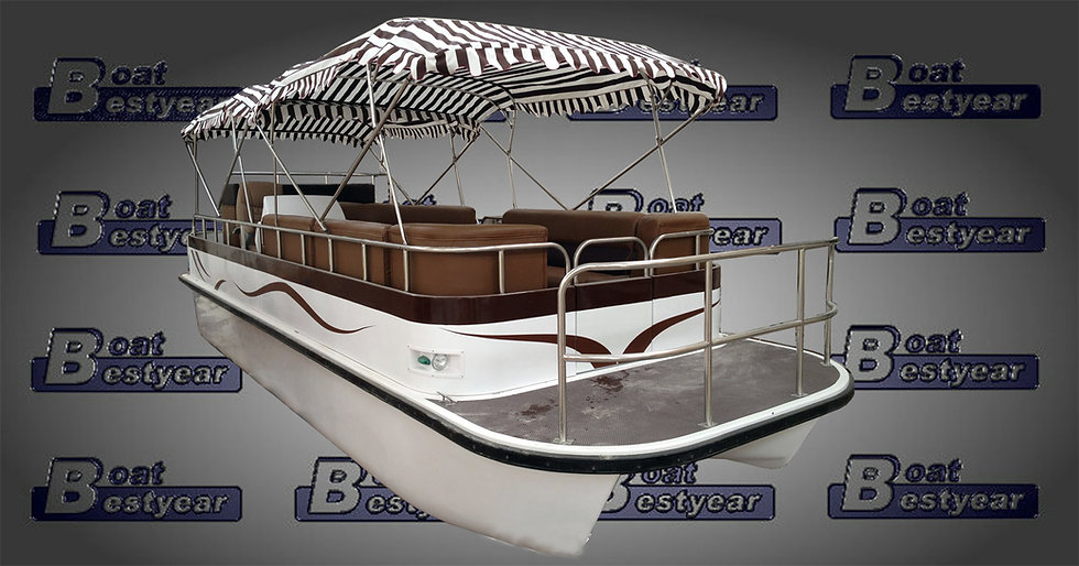 Electric Catamaran Boat E550 / E750 (Available with Cabin)