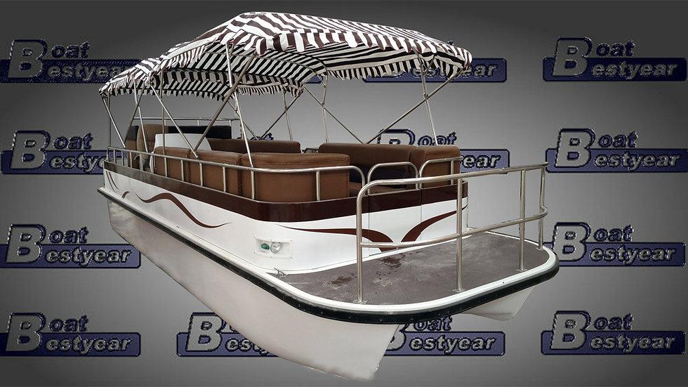 Electric Catamaran Boat E550 / E750 (Available with Cabin)