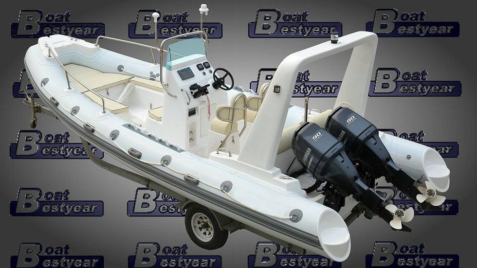 Rigid Inflatable Boat (RIB) 680A