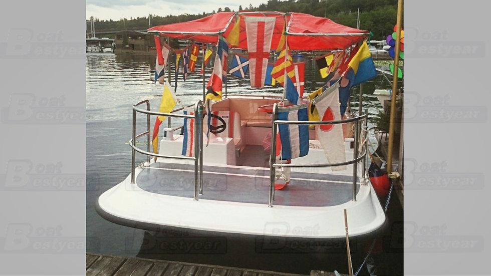 Electric Passenger Catamaran 550 for 10 Passengers