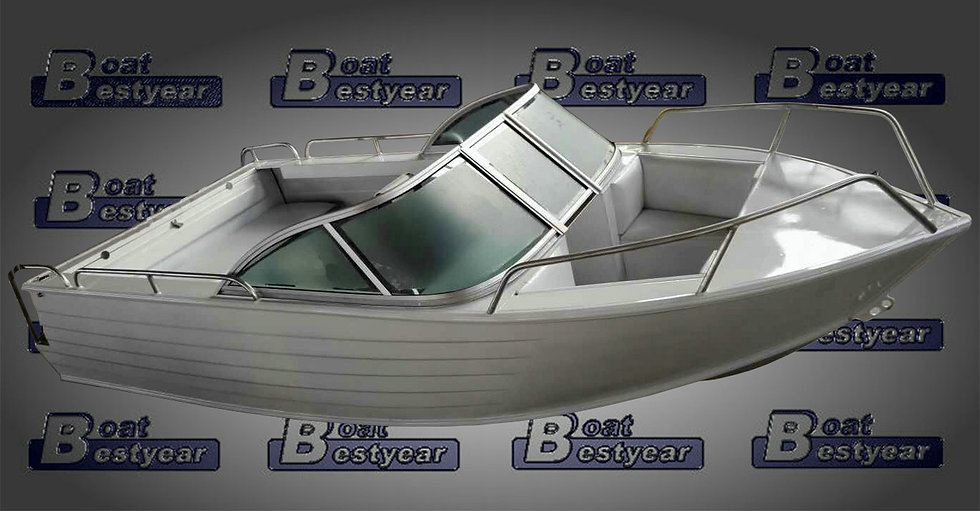 Aluminum Boat 500 for Sports & Fishing