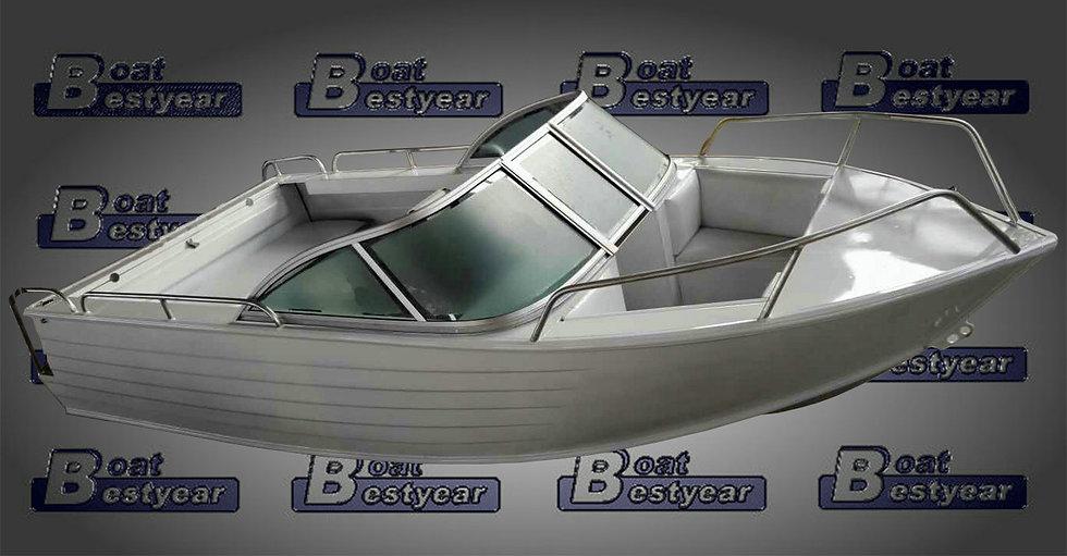 Aluminum Boat 500 for Sports & Fishing
