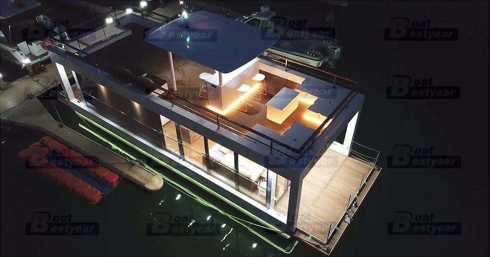 Modern Diamond Houseboat 1460