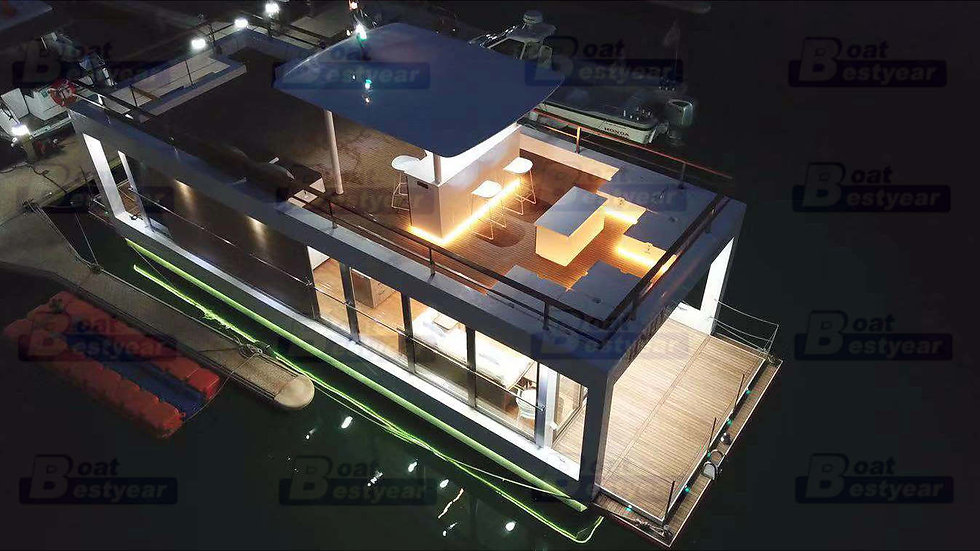 2019 Modern Diamond Houseboat 1460