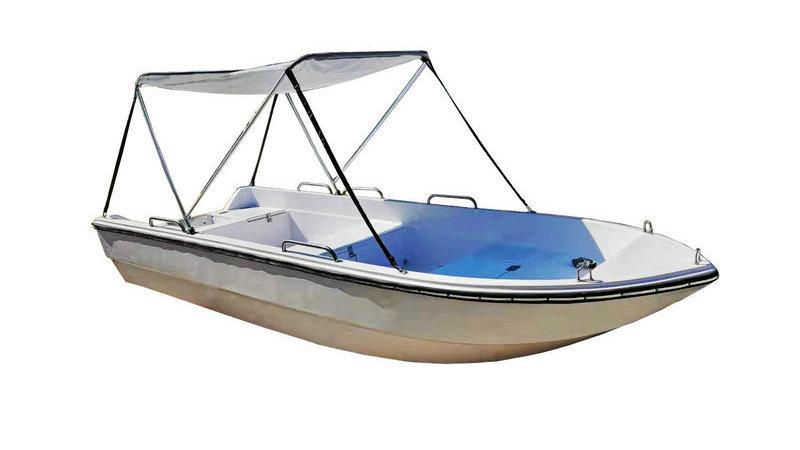 Small Fiberglass Fishing Boat F420