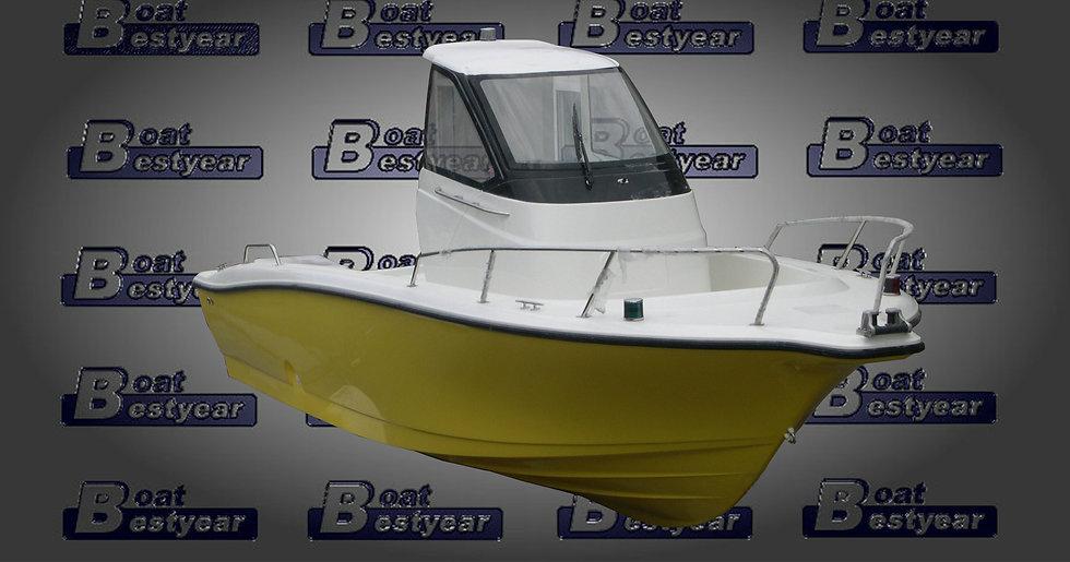 Japanese Fishing Boat YF21 - Hardtop
