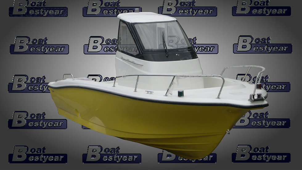 21ft Fishing Boat (Available in Hardtop & Center Console)