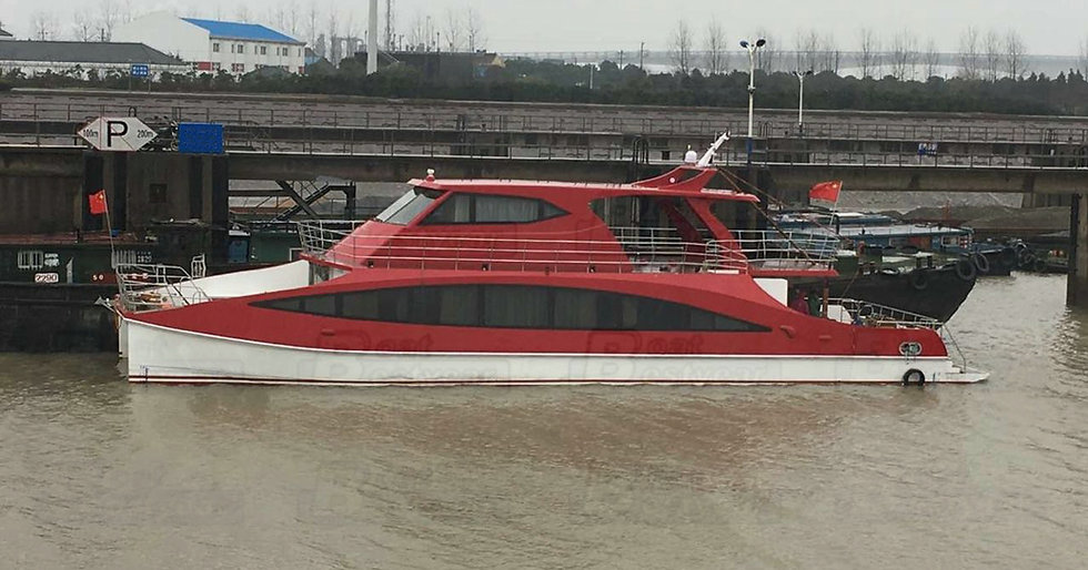 Catamaran Passenger Boat 2400 for 12 Passengers