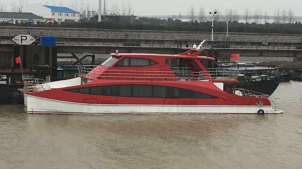 24m Catamaran Boat for 12 Passengers