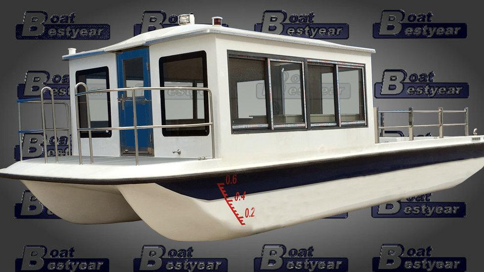 Electric Passenger Catamaran 850 for 22 Passengers