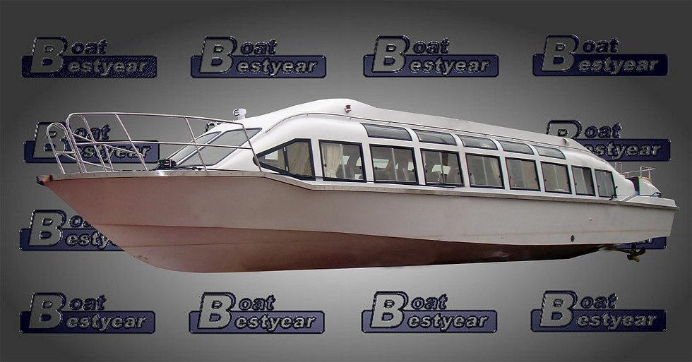 Semi-Panoramic Passenger Boat 1700-1920 for 40-78 Passengers