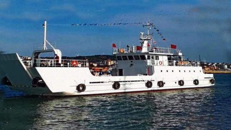 Sea Coast RORO Ship 3700