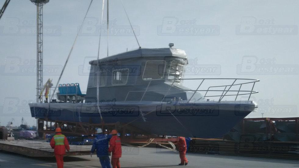 Bestyear 13m Aluminum Work Alloy Boat