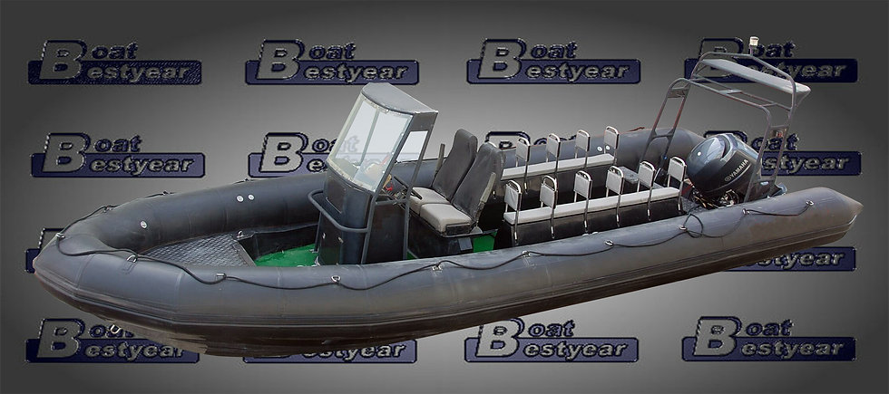 Military Rigid Inflatable Boat (RIB) 880