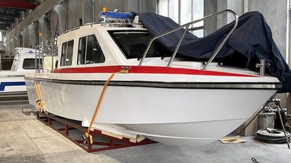 Freshly Built: High-Speed Patrol Boat 796