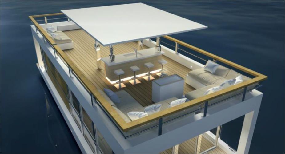 Bestyear 2019 Modern Diamond Houseboat
