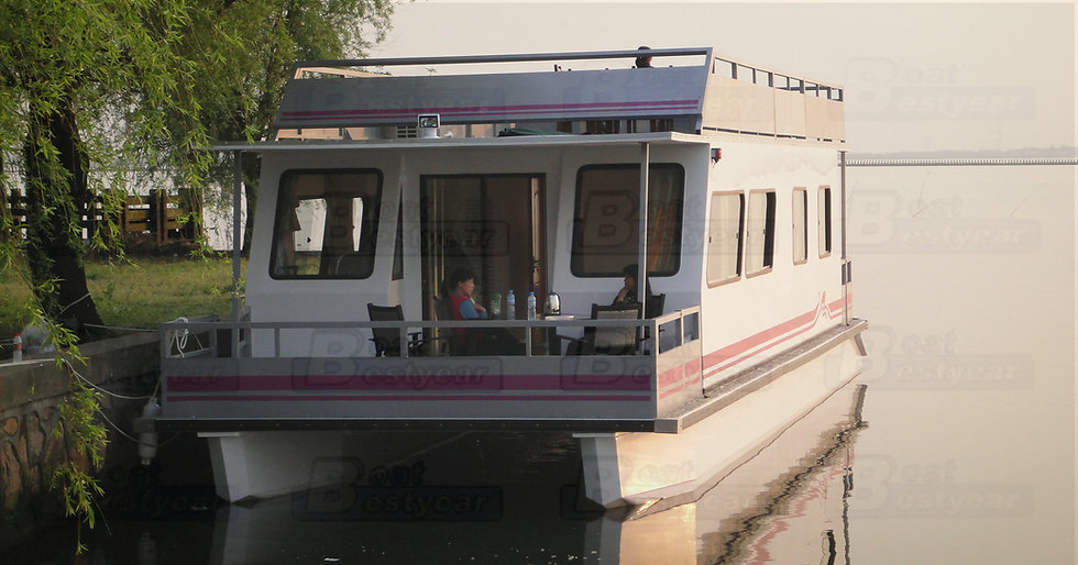 Catamaran Houseboat 1450