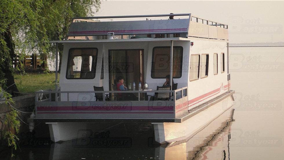 Solar Power Houseboat 1450