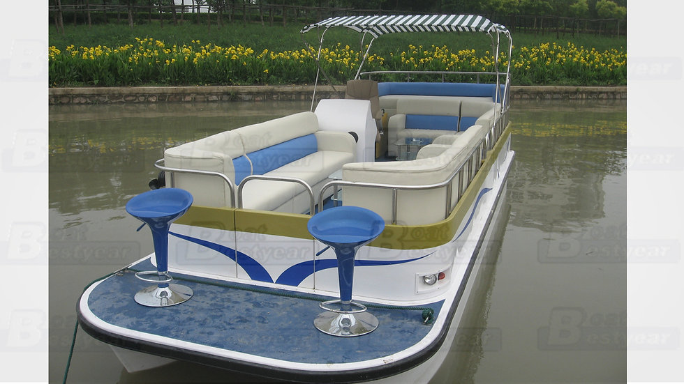 Electric Passenger Catamaran 750 for 10 Passengers