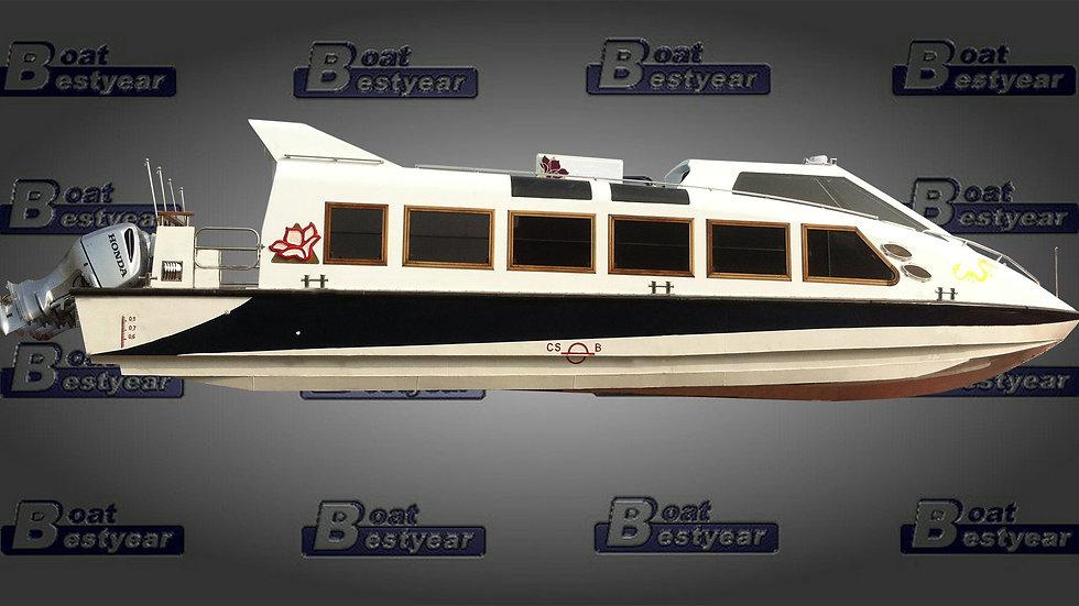 High Speed Triple Hull Aluminum Passenger Boat 42