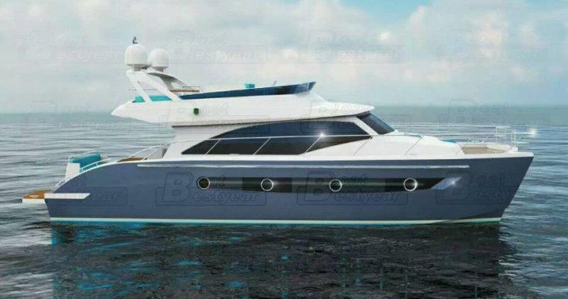 Hera 48 Aluminum Catamaran Yacht