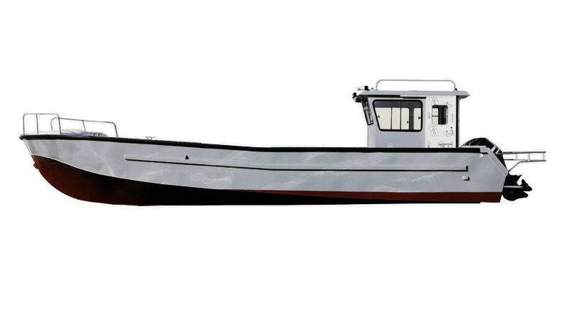 Aluminum Fishing Trawler ALF1300