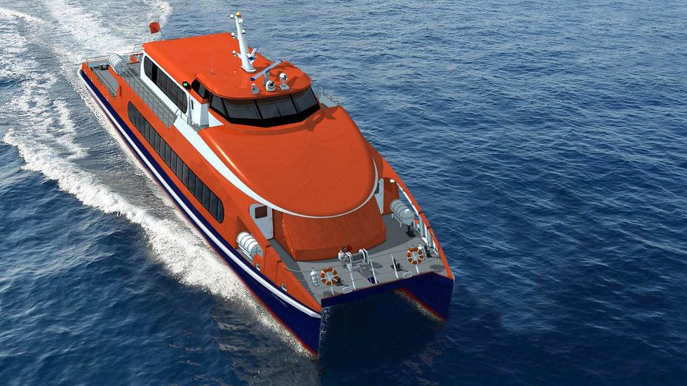 High Speed Catamaran Ferry 4000