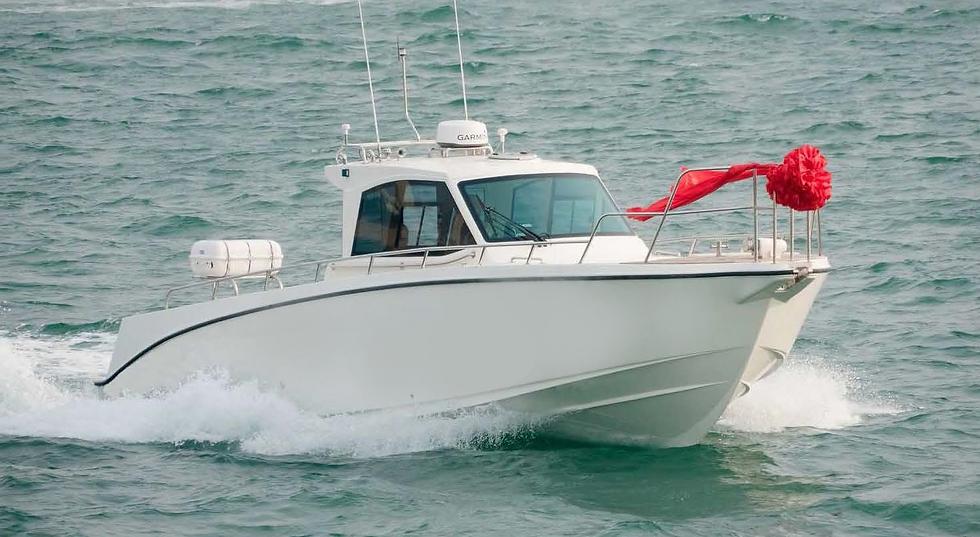 Cabin Fishing Boat 1100