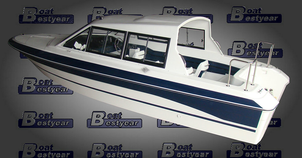 Hardtop Passenger Boat 760