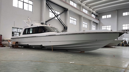 """Truly Stunning: 45ft High-Speed Fishing Boat """"Shanghai"""""""