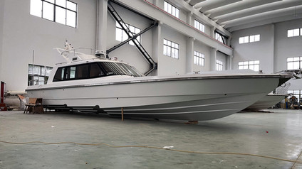 "Truly Stunning: 45ft High-Speed Fishing Boat ""Shanghai"""