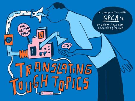 SPCA on Translating Tough Topics