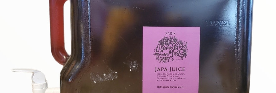 2 Gallon Japa Juice (Local Deliveey Only)