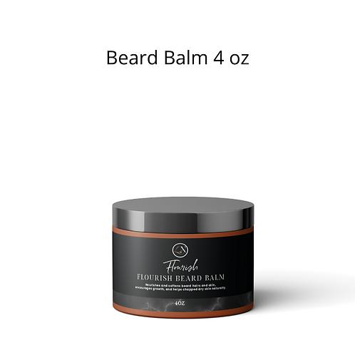 Flourish Beard Balm 4 oz
