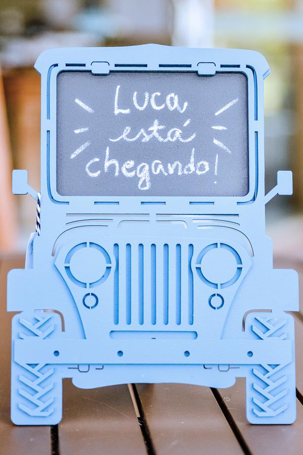 _Chá de bebê do Luca