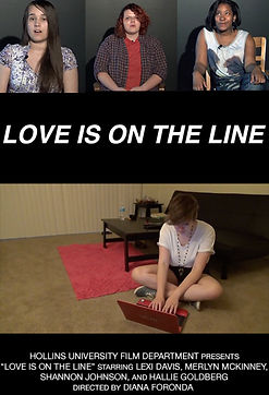 LOVE IS ON THE LINE