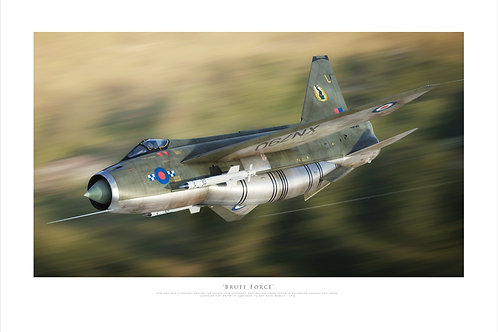 English Electric Lightning - Brute Force