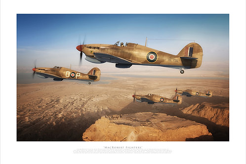 Hawker Hurricane Mk11c - MacRobert Fighters