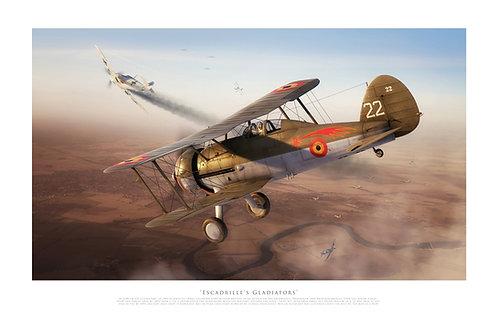 Gloster Gladiator - Escadrille's Gladiators