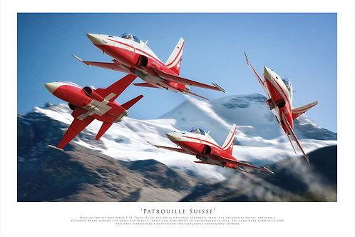 Northop F5 - Patrouille Suisse