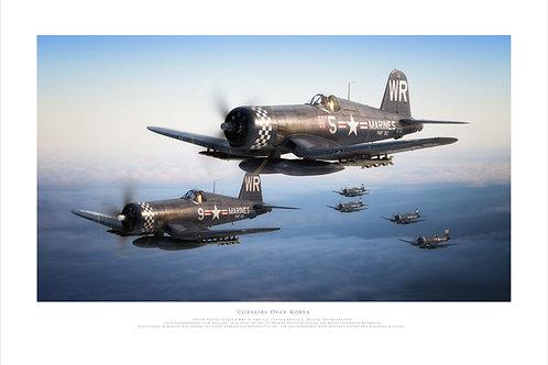 F4U Corsairs - Corsairs Over Korea
